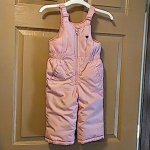 Oshkosh Bgosh baby girls snow suit pink 18 months